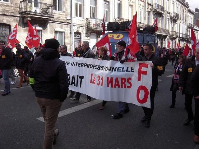 Protestation loi El-Khomri