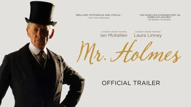 Affiche du film Mr. Holmes.