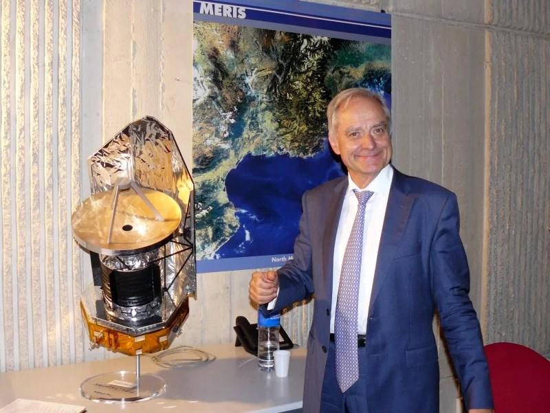 Le physicien André Brahic en 2009