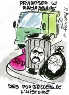 poubelles rené le honzec