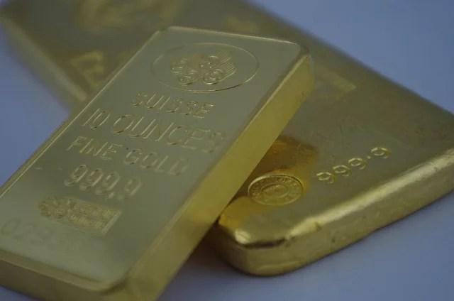 Gold bar by Sprott Money