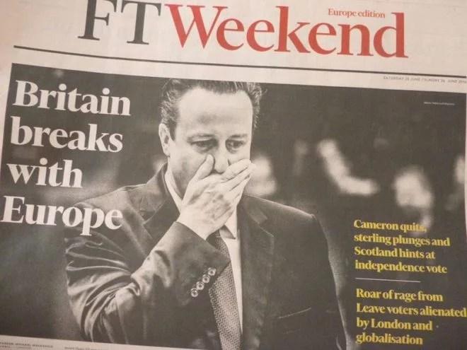 Le Brexit n'aura pas lieu