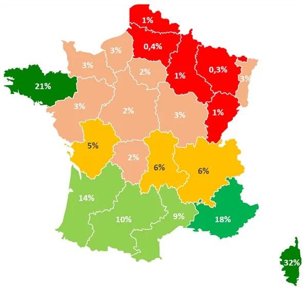 Vacances : les destinations préférées des Français