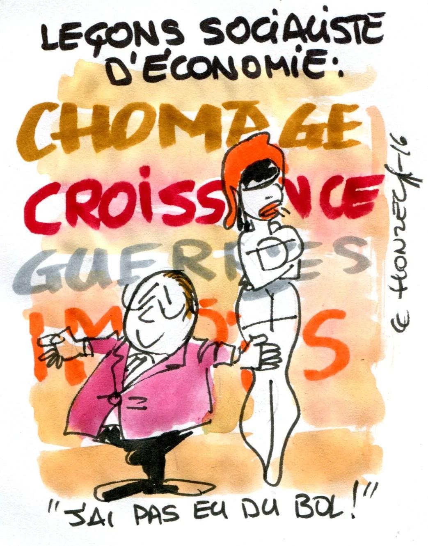 François Hollande pas de chance