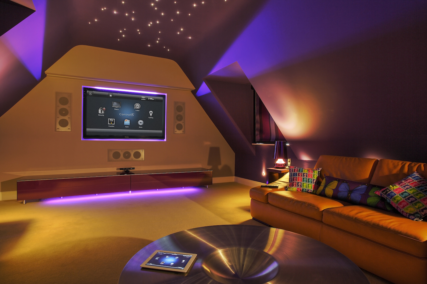 https www control4 com blog 265 5 mood lighting ideas for your home