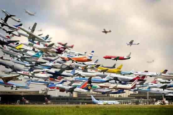 Congestion aérea