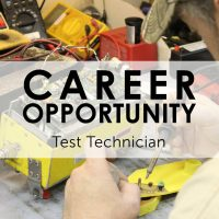 Career Ops - Test Technician