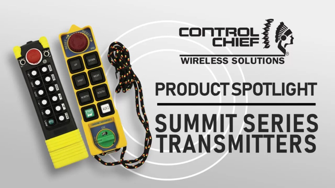 Control Chief Summit Series Transmitters - Industrial Remote Controls