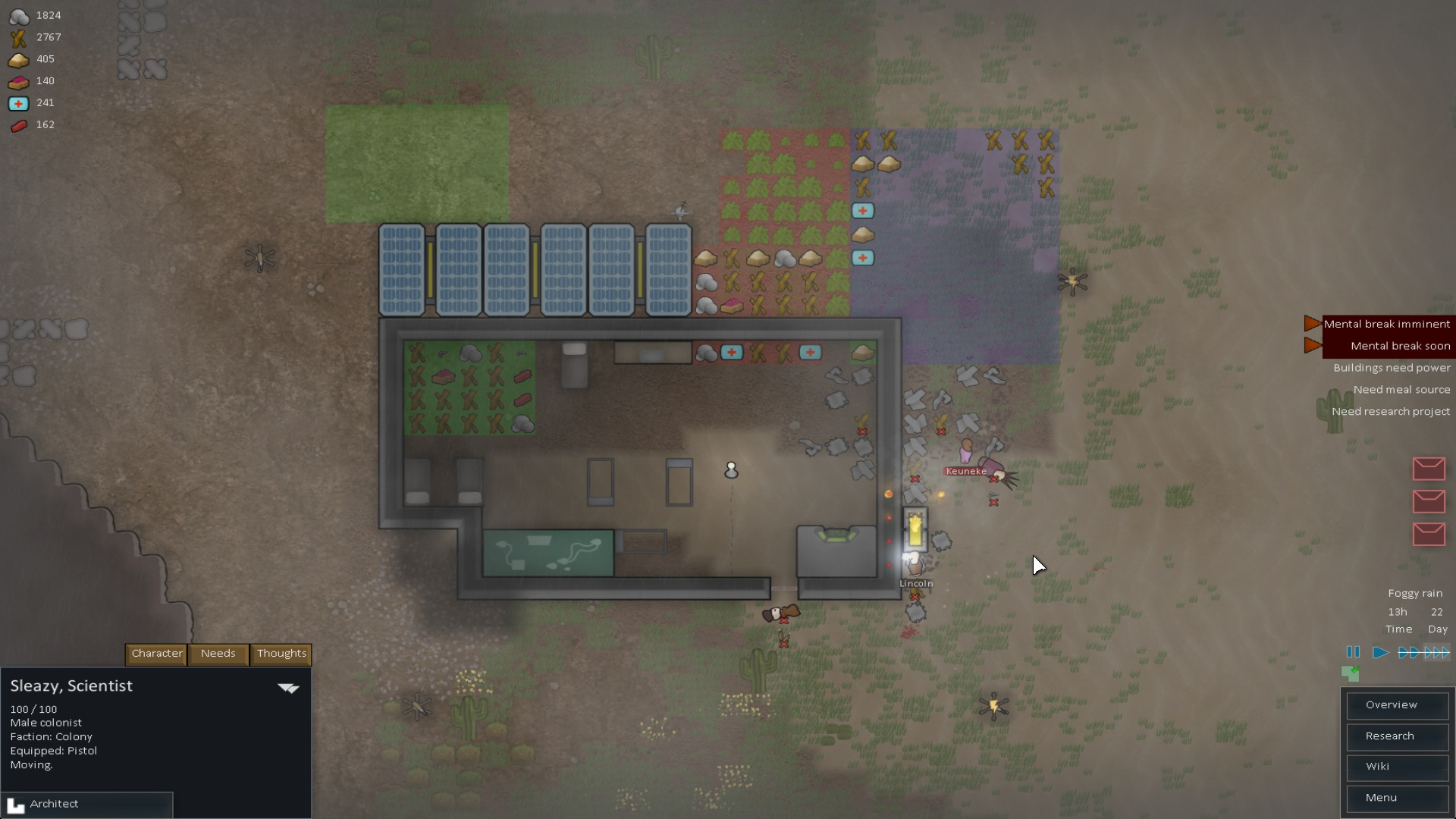 OS X Gaming Journaled: It's a RimWorld After All — Control