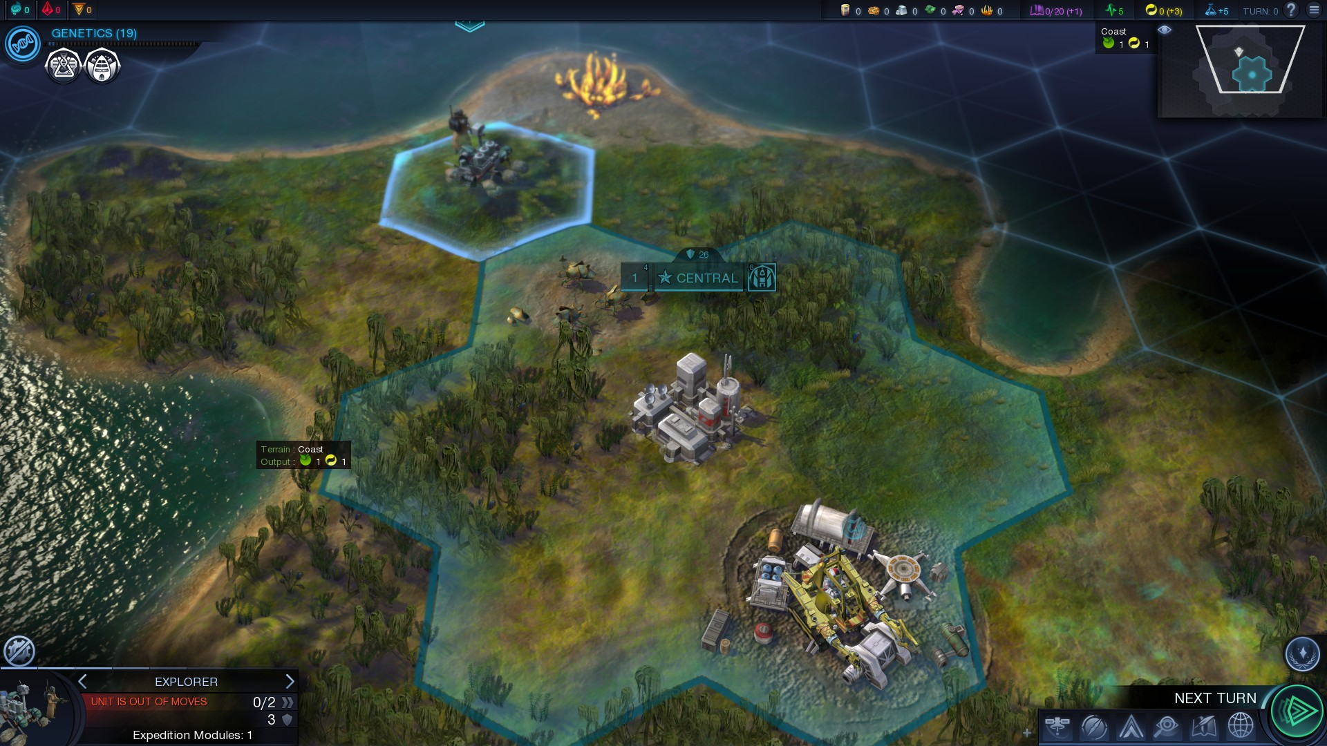 137 Turns of Civilization: Beyond Earth