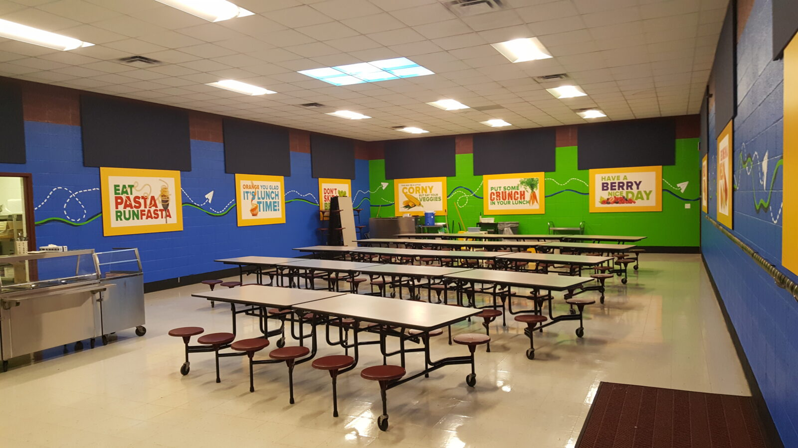 Sound Panels For Walls Soundproofing A Cafeteria