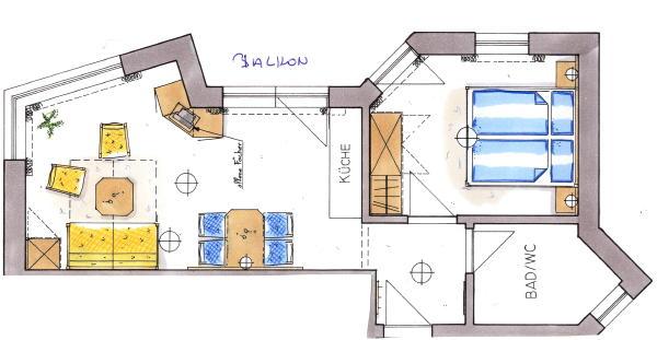 Piantina appartamento 1