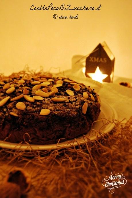 Torta di noci, mandorle e cioccolato br 3