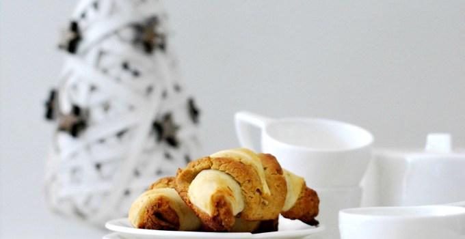 Mini Croissants di Sfoglia e Frolla al Panettone