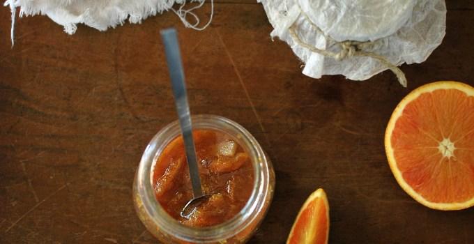 marmellata di agrumi con le scorze