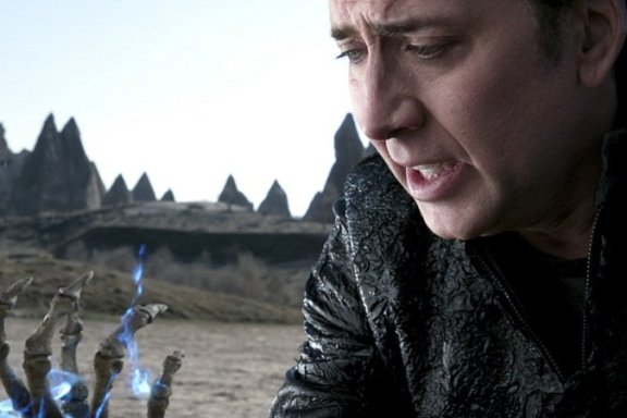 Nicolas Cage in Ghost Rider: Spirit of Vengeance