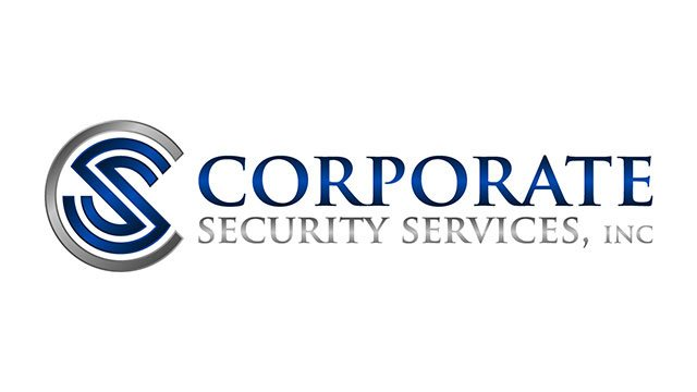 Corporate Security Services logo header image