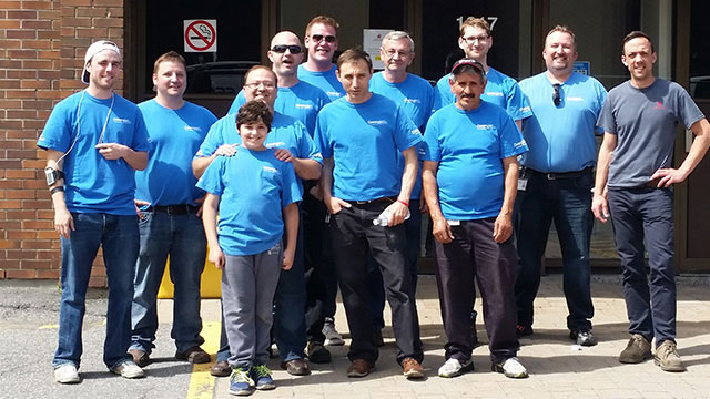 Convergint day Ottawa group gathering photo