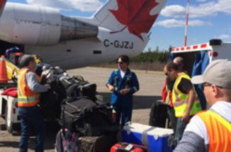 Airport in Fort McMurray