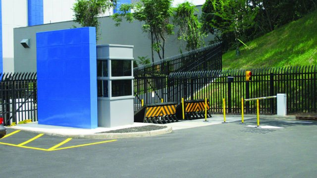 Convergint data center front gate security header image