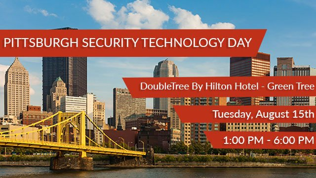 Pittsburgh Security Technology Day header image