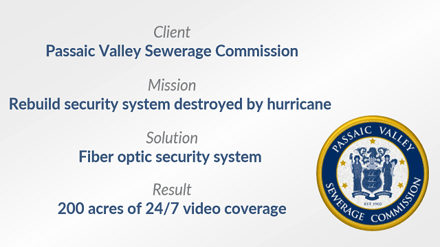 Passaic Valley Sewerage Commission Mission, Solution and Result