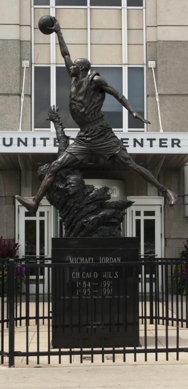 Jordan Statue at the United Center