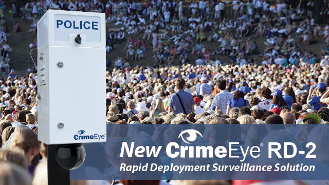 New CrimeEye RD-2 Public Safety Camera Header Image