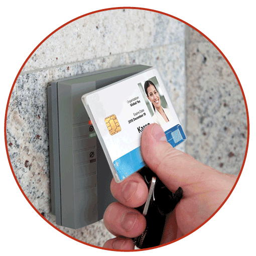 HID smart card example