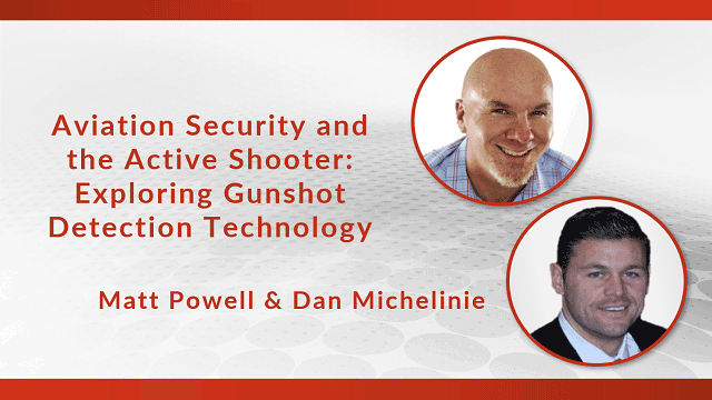 Matt Powel and Dan Michelinie Exploring Gunshot Detection Technology header image