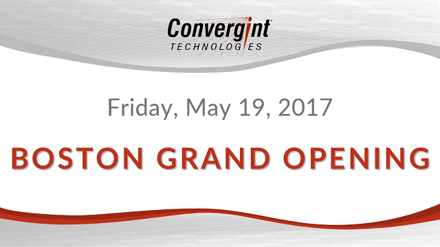 Friday, May 19th 2017, Boston grand Opening header image