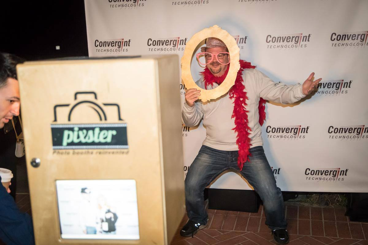 Convergint Colleague Funny Picture with prop