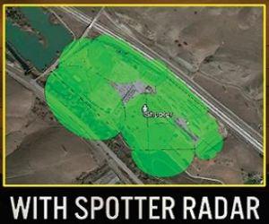 Image with Spotter radar captured