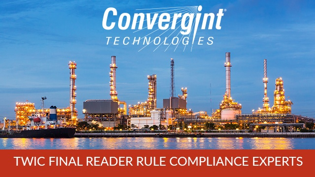 Convergint Technologies TWIC Final Reader Rule Compliance Experts Header Image
