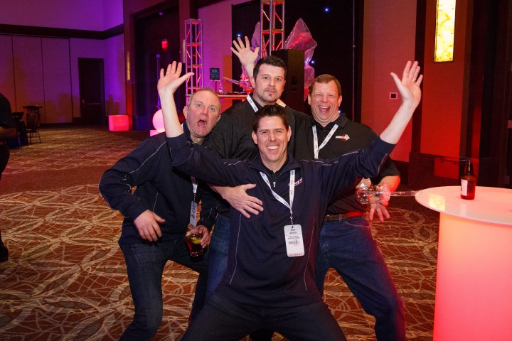 Convergint Nation Conference 2018 Funny Image of Colleagues