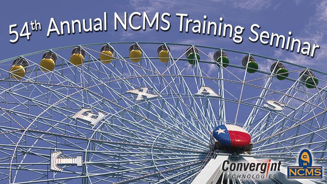 54th Annual NCMS Training Seminar Header Image