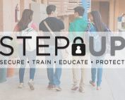 Step Up Secure Train Educate Protect header image