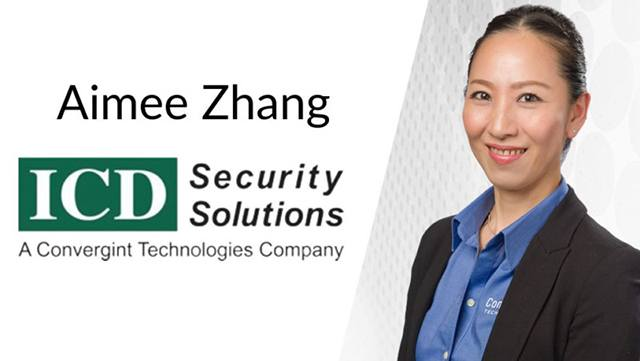 Aimee Zhang ICD Security Solutions header image