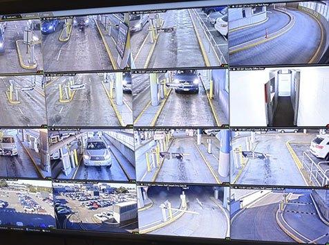 Video Surveillance of Garage