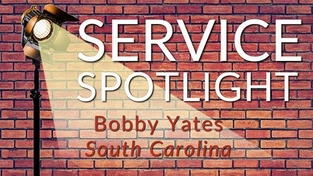 Service Spotlight Bobby Yates