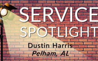 DustService Spotlight: Dustin Harris