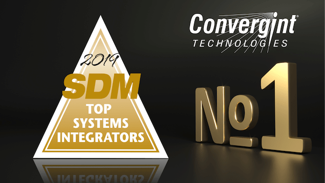 Convergint Wins SDM Top Integrator 2019