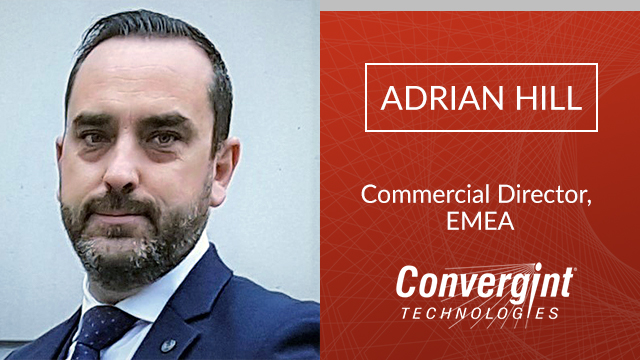 Adrian Hill Commercial Director EMEA