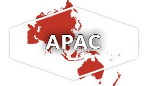 APAC Region Map