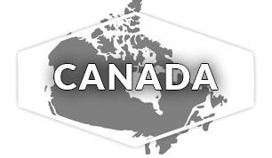 Canada region outline
