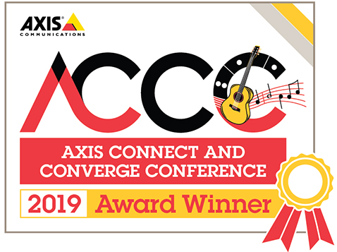 Axis City Surveillance Award 2019 Convergint