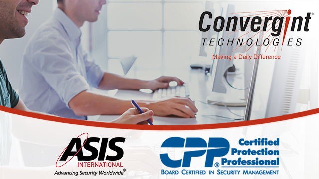 Convergint sponsors CPP candidates