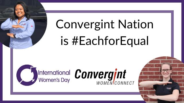 Convergint International Women's Day Festivities