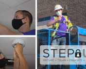 Convergint STEP Up Denver Colleagues Working