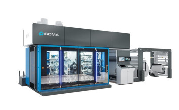 SOMA Optima flexo press